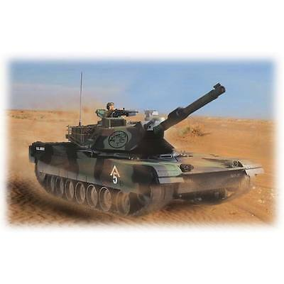 Hobby Engine M1A1 Abrams Shooting Function Tank 26.995MHZ Military R/C RHE0811A