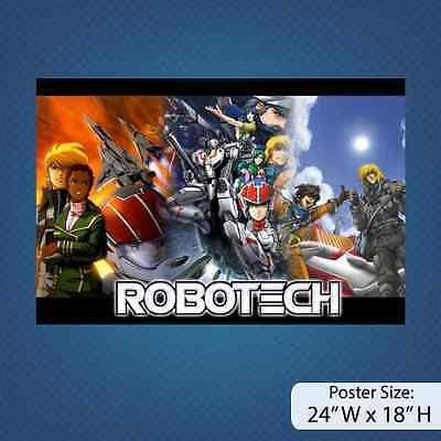 RoboTech / Anime / Manga / Version A / Poster