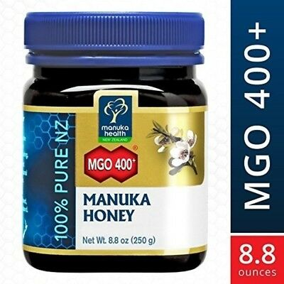 Manuka Health Sale MGO 400 + Manuka Honey 100% Pure New Zealand Honey 8.8 oz IHI