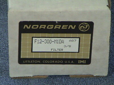 Norgren F12-300-M1DA Filter Water Seperator New In Box