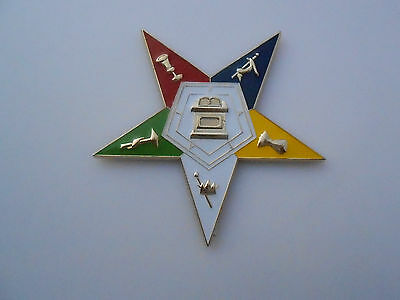 "Masonic - Order of Eastern Star 3"". Car/Auto Emblem  (PSC018)"