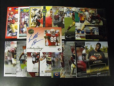 Florida State Seminoles 25 Card Lot With Autograph Cards