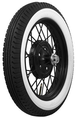 "440/450-21 BFGoodrich 2 1/2"" Inch Whitewall Bias Tires (Ford Model A Etc.)"