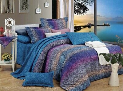 TANYA Queen/King/Super King Size Bed Duvet/Doona/Quilt Cover Set New 100% Cotton