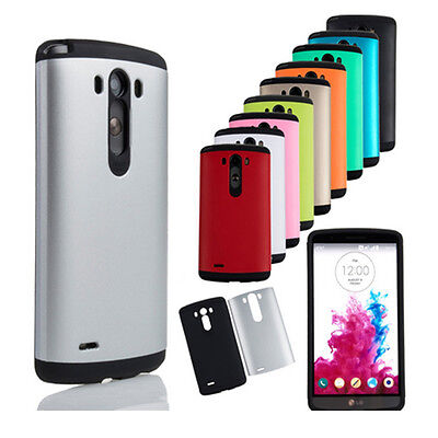 Hot Sell Colorful Shockproof Armor Case Hard Matte Protective Cover for LG G3