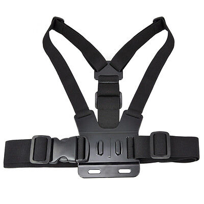 Adjustable Elastic Chest Strap Mount Harness for GoPro HD Hero 12 3 Camera SP