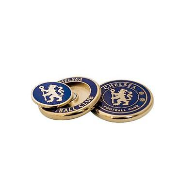 Official Licensed Football Product Chelsea Golf Ball Marker Duo Two Sided Gift