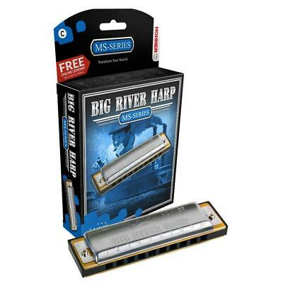 Hohner Big River Harmonica (Mouth Organ/Harp) - All Keys Available FREE UK P&P