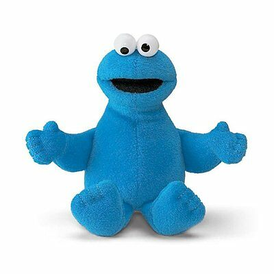 "Sesame Street - Cookie Monster 6"" Plush Beanie - *BRAND NEW*"
