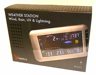 Ventus W266 Wireless Weather Station with Lightning Detection & UV Sensor