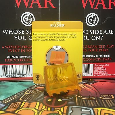 Bulldozer (Orange) Heroclix R203.11 War of Light Construct