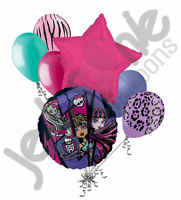 10 Monster High Birthday Party Invitations Or Thank You Cards W