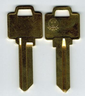 Weiser WR5 5 Pin Key Blank Brass X2