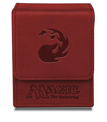 Ultra Pro Red Mana Flip Box for Magic the Gathering Cards Brand New 86109 NIB