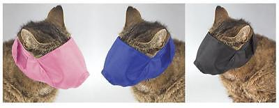 NYLON  MUZZLE for CATS - Helps stop biting and chewing -- 3 Colors!