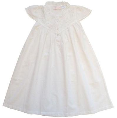 100% Cotton Shortsleeve Nightdress - Millie - Seed Pearls - Powell Craft - 4-12