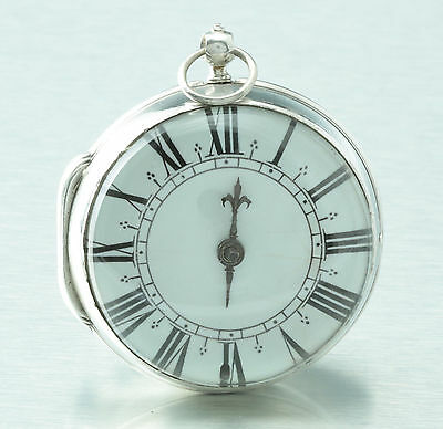 One handed Onion pocket watch Michel Jacob Tours France 1685 Rare construction