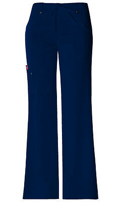 Scrubs Dickies Xtreme Stretch Drawstring Flare Pant 82011 Navy  FREE SHIPPING