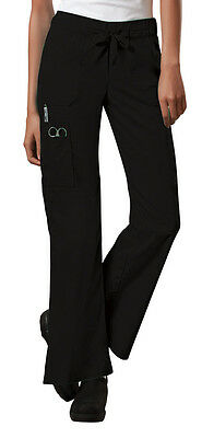 Scrubs Cherokee Workwear Core Stretch Pant 24001 Black FREE SHIPPING
