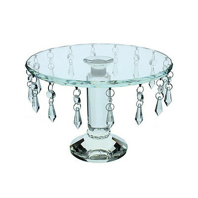 Crystal Revolving 10 Inch Cake Lace Cake Stand