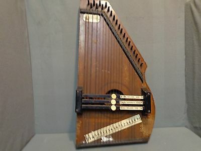 Antique Zimmerman Autoharp 1882