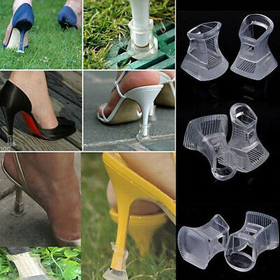 2/5 Clear High Heel Stopper for Grass Outdoor Wedding Banquet Protector Cover