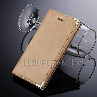 Luxury Magnetic Flip Cover Wallet Leather Case For Samsung Galaxy S6 Edge Plus