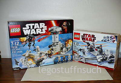 NEW LEGO Star Wars™ 75138 HOTH Attack 8084 Snowtrooper Battle Pack sealed OOP