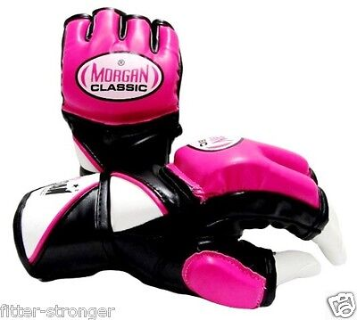 MORGAN LADIES MMA Gloves Boxing Muay Thai UFC WOMENS Sparring Cross Training NEW