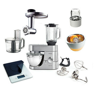 kenwood chef titanium kvc 70 mit super paket 7350s und deutschem kochbuch eur 849 00 picclick de. Black Bedroom Furniture Sets. Home Design Ideas