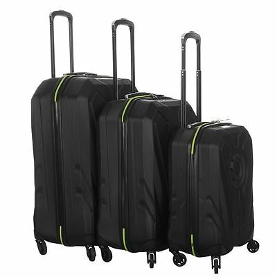 No Fear Unisex Stealth Suitcase Set Travel Trolley Luggage Bag Case Accessories