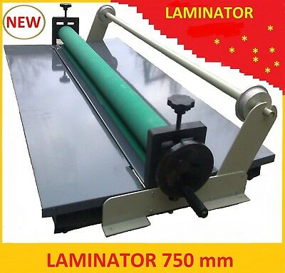 Manual Cold Roll Mount Laminator cold Laminator 29 inch with Bar silicone roller