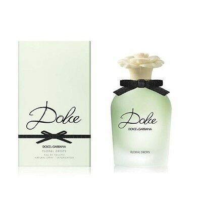 D&G DOLCE E GABBANA DOLCE FLORAL DROPS EDT NATURAL SPRAY VAPO - 50 ml