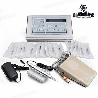 Professional Eyebrow Permanent Makeup Machine Kit Tattoo Macchinetta Tatuaggi