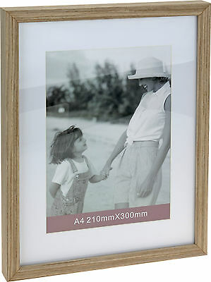 A4 Wood Certificate Photo Picture Frame Treated MDF  With Cardboard Mount