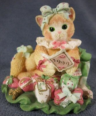 Calico Kittens You're The Best Gift Of All #543470 P Hillman 1999 Figurine