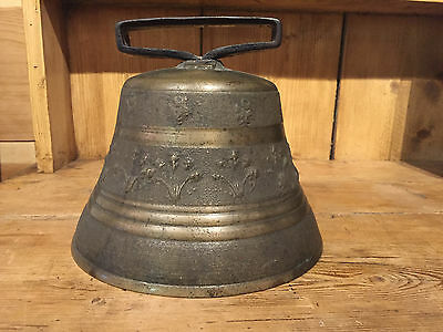 Antique 100+ Year Old Swedish Bronze Bell
