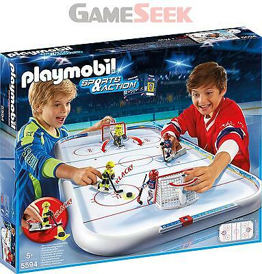 Playmobil 5594 Sports And Action Ice Hockey Arena - Toys Brand New Free Delivery