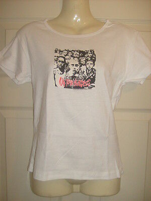 ladies/ older girls The Untouchables white t-shirt, OSFA Suit Size small 10-12