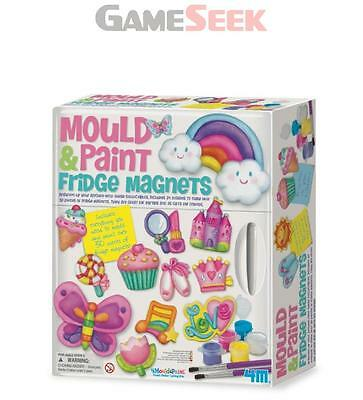 4M Mould And Paint Fridge Magnets - Toys Brand New Free Delivery