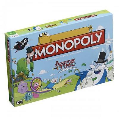 Official Licensed Product Adventure Time Edition Monopoly Game Fun Gift New