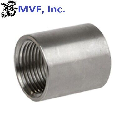 "Coupling 3/4"" Npt 150# 304 Stainless Steel Brewing Pipe Fitting  724Wh"