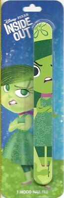 Disney Pixar Inside Out Green Disgust Mood Nail File Party Favor Beauty Supply
