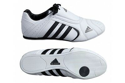 Adidas Adi SM III Martial Art Training Shoes White Taekwondo Trainers Karate Gym