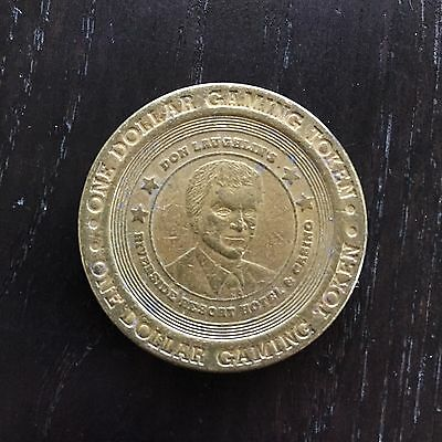 Fine 1999 Casino $1 Dollar Coin Metal Token Riverside Resort Casino Reno Nevada