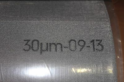 Stainless Steel Current Collector Mesh Fuel Cell 30 Micron anode cathode 30μm