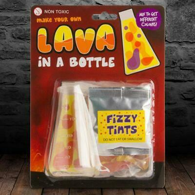 Lava In A Bottle   science experiment d.i.y educational toy volcano gag magma as