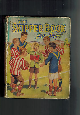 SKIPPER BOOK FOR BOYS 1935 vintage annual BUT!!