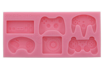 Game Console Controller Silicone Mould By Zee Chik Designs