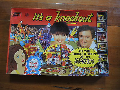 Its a Knockout board game Australian version vintage rare complete Excellent